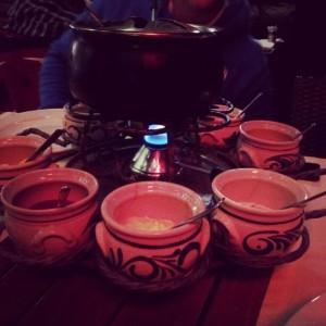 fondue meat