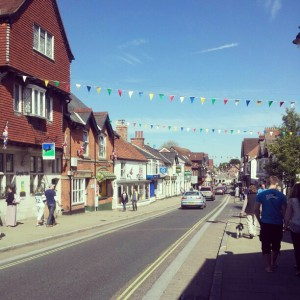 I do love a bit of bunting!