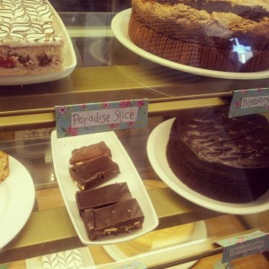Too many cakes to choose from