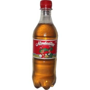 The mysteriously delicious Almdudler
