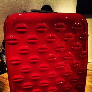 My gorgeous new suitcase will make it's maiden voyage on this trip!