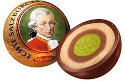 Chocolatey goodness with a famous composer's face emblazoned on them...what more could you want?