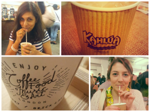 Coffee fun! Thanks to Aminah for the brilliant photos
