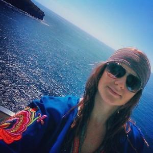 So relaxed I went full on boho... (shameless balcony selfie)