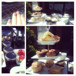 Tea at the Winchester Hotel & Spa