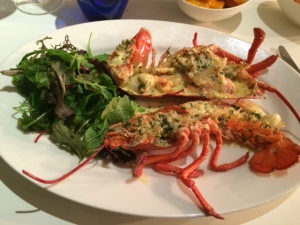 The special - Lobster Thermidor