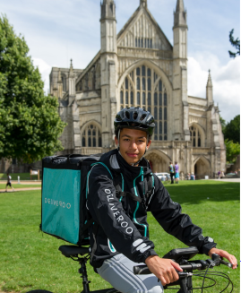 Deliveroo - cathedral