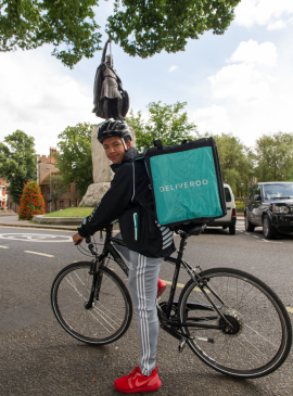 Deliveroo King Alf